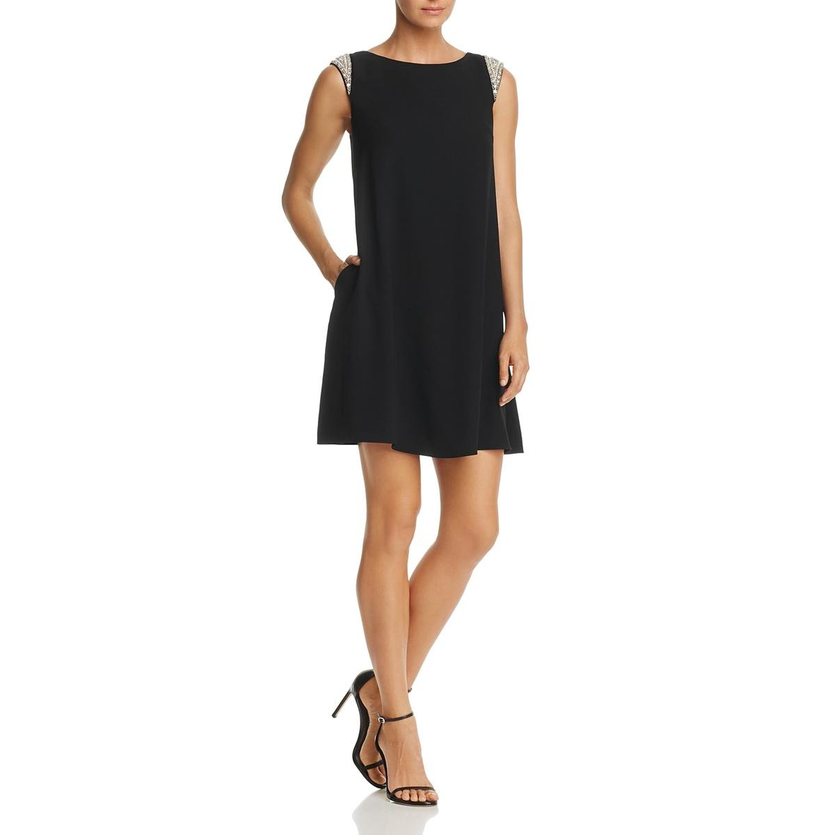 3f0d90647d3 Aidan Mattox Womens Trapeze Embellished Cocktail Dress at Amazon Women s  Clothing store