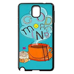 Custom Good morning Plastic Case for SamSung Galaxy note3 n9000, DIY Good morning Note3 Shell Case, Customized Good morning n9000 Cover Case