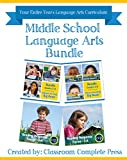 img - for Middle School Language Arts Bundle Gr. 3-8 book / textbook / text book
