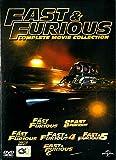 Fast & Furious 1-6 +Specification (DVD) Region ** Import ** / Vin Diesel, Paul Walker, Dwayne