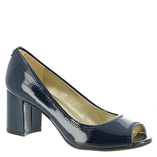 Anne Klein Women's Meredith Navy 9 M US Anne Klein Peep Toe Shoes