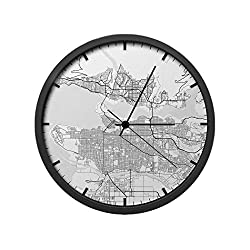 Point Two Design Group Vancouver Wall Clock
