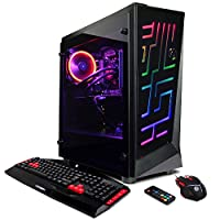 CYBERPOWERPC Gamer Xtreme VR GXiVR3000CPG Desktop (Liquid Cooled Intel i7-8700 3.2GHz, 16GB DDR4, NVIDIA GeForce GTX 1070 8GB, 2TB HDD, WiFi & Win10 Home) Black