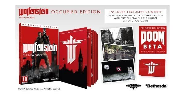 Wolfenstein The New Order - Occupied Edition [Xbox One] by ...