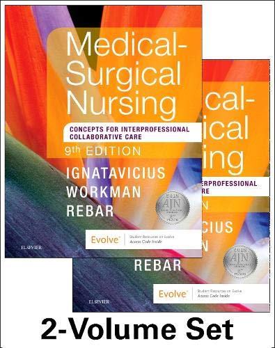 Medical-Surgical Nursing: Concepts for Interprofessional Collaborative Care, 2-Volume Set by Saunders