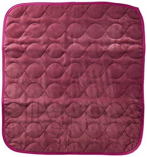 RMS CP-600BL Absorbent Washable Reusable Incontinence Chair Seat Protector Pad, Underpad, 3-Layer Innovative Design, 350 Washes Guarantee, 21' Width, 22' Length, Blue