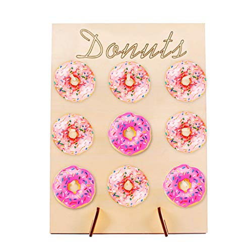 Tommer Donut Wall Stand Birthday Wedding Party Favour Doughnut Sweet Cart Treat Stand