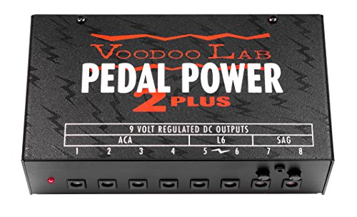 Voodoo Lab Pedal Power 2 Plus Isolated Power Supply - Pedal Board Power Supply