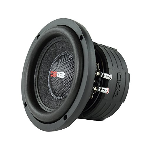 DS18 Elite Z6 Subwoofer in Black - 6.5