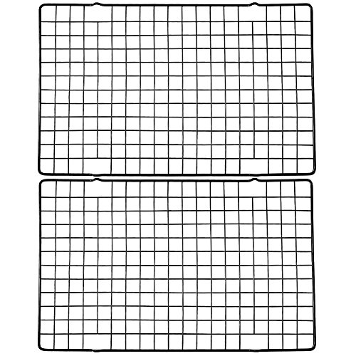 Irich 2 Pack Cooling Rack Baking Rack, Thick Wire Cooling & Baking Rack for Roasting, Cooking, Grilling, Drying by Irich