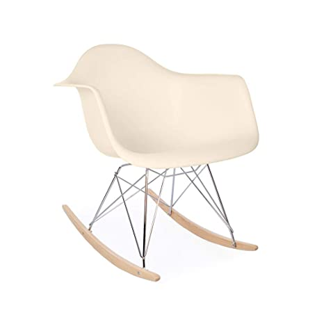 Terrific Amazon Com Eames Replica Rar Mid Century Modern Rocking Arm Gmtry Best Dining Table And Chair Ideas Images Gmtryco