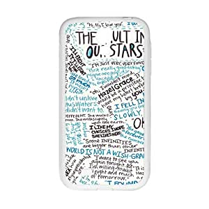 Simple graffitti motto pattern Cell Phone Case for Samsung Galaxy S4 Kimberly Kurzendoerfer
