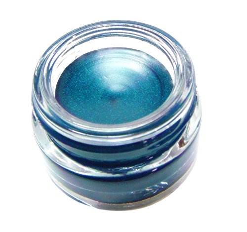 Pure Ziva Beautiful Peacock Teal Green Blue Long Lasting Waterproof Gel Cream Eyeliner