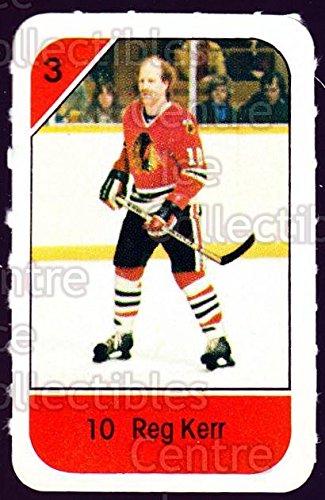 ((CI) Reg Kerr Hockey Card 1982-83 Post Cereal 52 Reg Kerr)