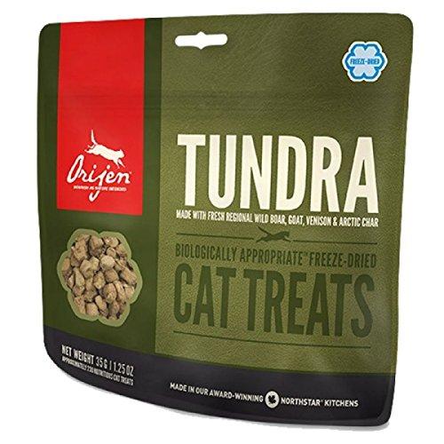 Orijen Tundra Freeze-dried Cat Treats 1.25 Ounces