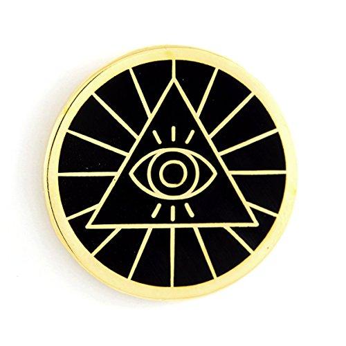These Are Things Illuminati Enamel Pin