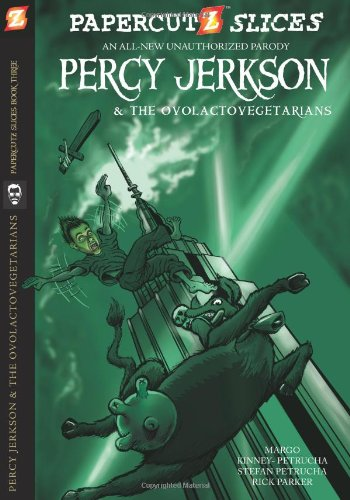 Papercutz Slices #3: Percy Jerkson and the Ovolactovegetarians ebook