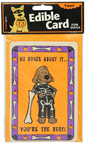 Crunchkins Crunch Edible Card, No Bones About It, You'Re The Best