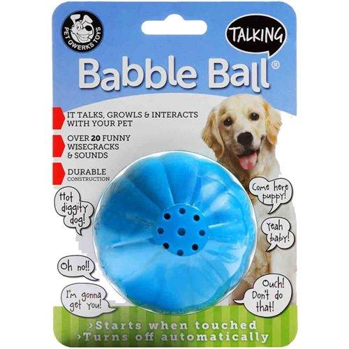 (Pet Qwerks Talking Babble Ball Large)