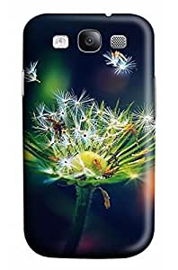 Online Designs Dandelion on a black background PC Hard new cell phone cases for galaxy s3