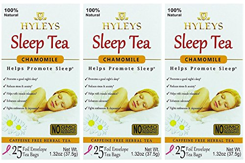 Hyley's - Sleep Tea Chamomile (3 Pack)