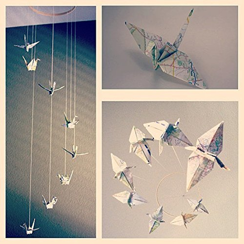 origami mobile - 7