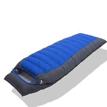 Qys Ultraligero Momia Abajo Saco De Dormir 4 Estaciones con Bolsa De Compresión. para El Senderismo Cámping: Amazon.es: Deportes y aire libre