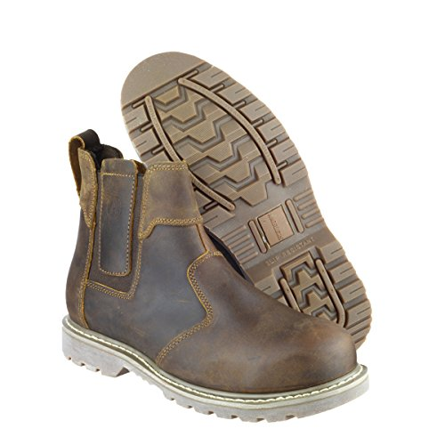 Amblers Safety FS165 Safety Boot Brown Size 5 nhHgm8R