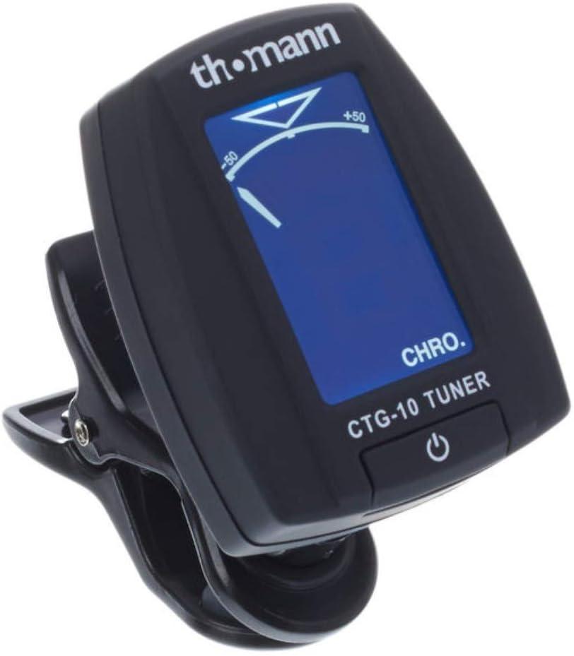 Thomann CTG-10 - Afinador cromático con pinza para guitarra ...