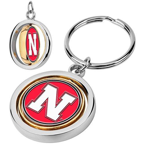 (LinksWalker NCAA Nebraska Cornhuskers - Spinner Key Chain)