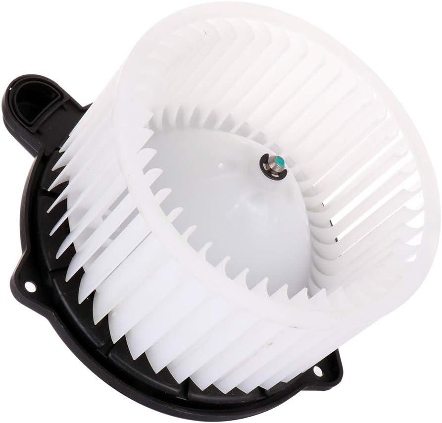ECCPP HVAC Plastic Heater Blower Motor w//Fan Cage for 1989 Chrysler Daytona //2007-2010 Hyundai Elantra //2011-2013 Hyundai Equus //2009-2013 Hyundai Genesis //2007-2009 Hyundai Santa Fe