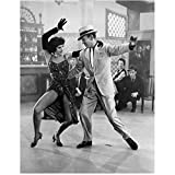 Fred Astaire 8 Inch x 10 Inch Photo Singin' in the Rain Top Hat Swing Time B&W Dancing w/Cyd Charisse LEGS! kn