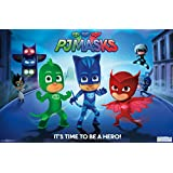 "Amazon Price History for:Trends International PJ Masks Hero Wall Poster 22.375"" x 34"""