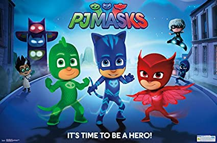 "Trends International PJ Masks Hero Wall Poster 22.375"" ..."