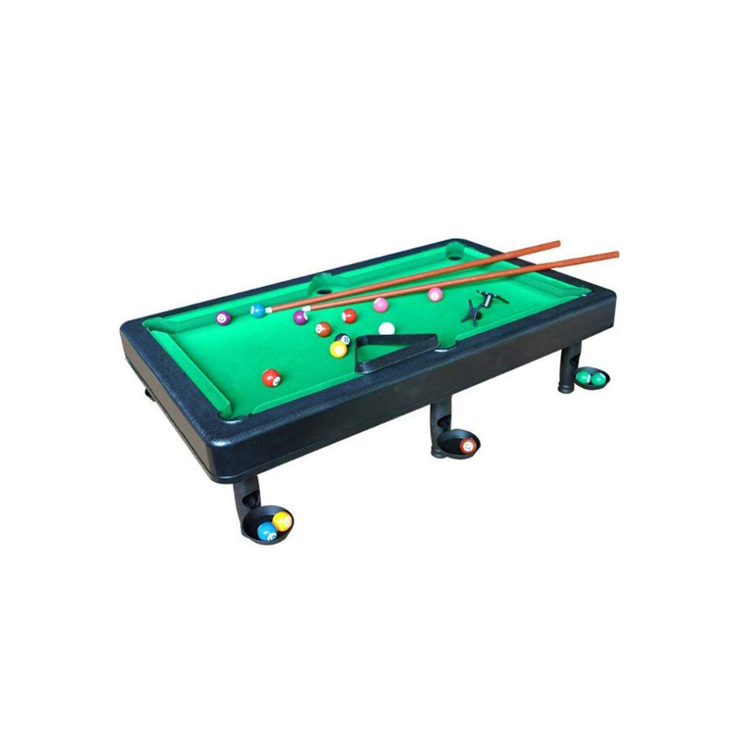 SXZHSM-Intellectual development toy Children's Simulation American Billiards Large Small Table Billiards Doubles Play Parent-Child Indoor Toys