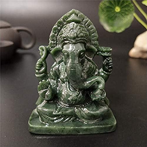 PRIME Estatua de Buda de Ganesha, Elefante y Dios, Figura de jardín Hecha a Mano para decoración del hogar: Amazon.es: Hogar