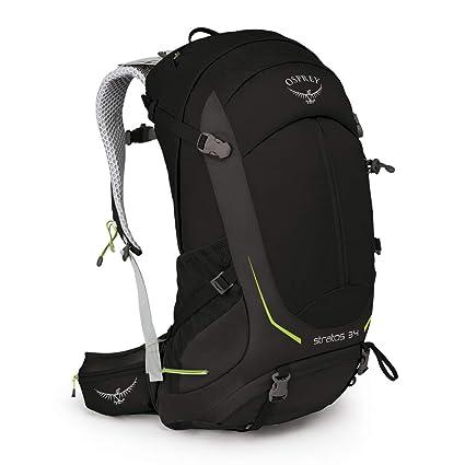 82baf9408 Amazon.com : Osprey Packs Stratos 34 Men's Hiking Backpack : Sports ...