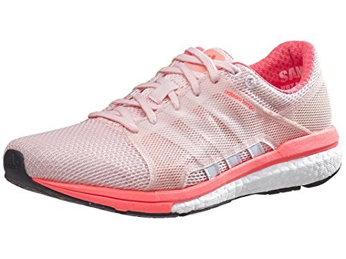 adidas Women's Adizero Tempo 8 SSF Vapor Pink/White/Solar Red Athletic Shoe by adidas