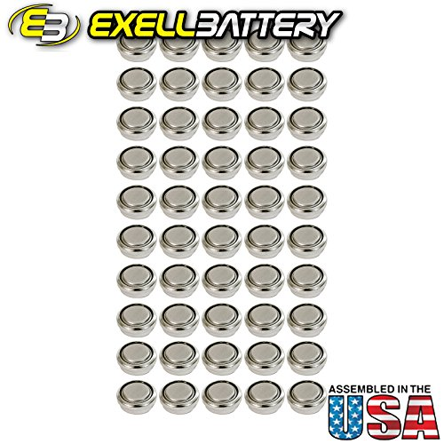 50pc Exell A625PX 1.5V Alkaline Battery LR09 PX625A D625 EPX625G MR09 by Exell Battery