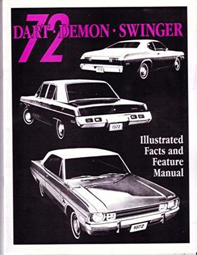 Chrysler Brochure (1972 Dodge Dart Demon Facts Features Sales Brochure Literature Book Features)