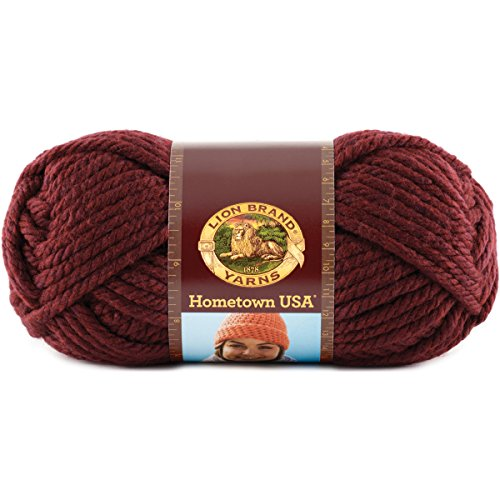 Sports Latch Hook (Lion Brand Yarn 135-189 Hometown USA Yarn, Napa Valley Pinot)