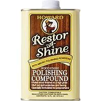 Howard rs0016473ml/16oz restor-a-shine madera compuesto de pulido