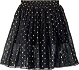 Stella McCartney Kids Baby Girl's Amalie Gold Polka Dot Tulle Overlay Skirt (Toddler/Little Kids/Big Kids) Black 4T