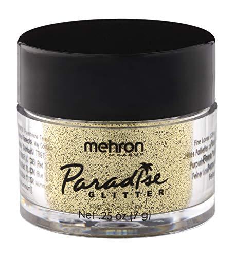 Mehron Makeup Paradise AQ Glitter (.25 ounce) (Gold)