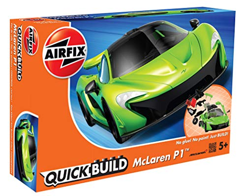 Airfix Quickbuild McLaren P1 Green Snap Together Plastic Model Kit J6021