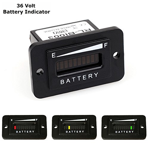 Rv Battery Voltage Gauge : Cisno volt led battery indicator meter gauge