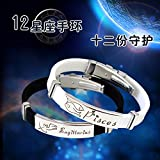 Best GENERIC Friend For Teen Girls - Aquarius zodiac birthday hand jewelry bracelet Jaese Review