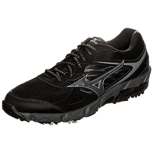 Mizuno Wave Kien G-Tx, Zapatillas de Running para Hombre Black / Dark Shadow