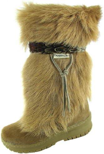 Bearpaw Kola Goat Fur Boots Womens