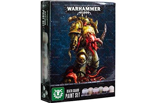 - Games Workshop Warhammer 40,000 Death Guard Paint Set